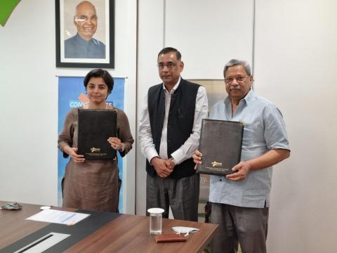 WRI India and CESL sign MoU to catalyze India's EV journey